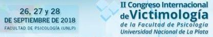 """II Congreso Internacional de Victimología: """"Intervenciones sobre las violencias. Nuevos desafíos: de la multidisciplina a los inter-saberes"""""""