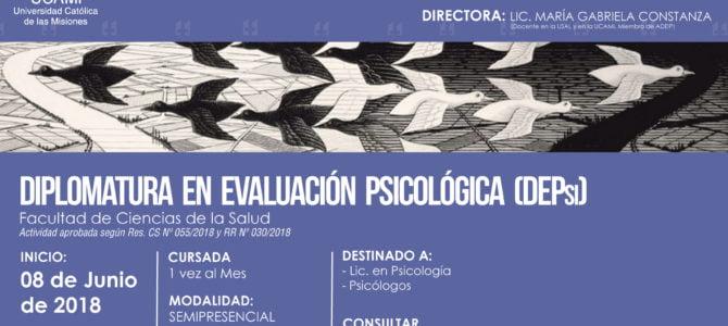 Diplomatura en Evaluación Psicológica