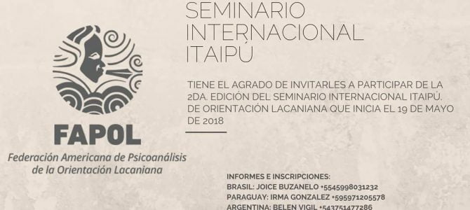 Seminario Internacional Itaipú