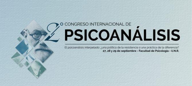 2º Congreso Internacional de Psicoanálisis