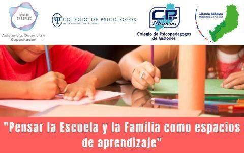 """Taller """"Pensar la Escuela y la Familia como Espacios de Aprendizaje"""""""