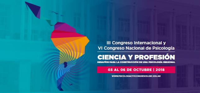 III Congreso Internacional de Psicología y VI de Congreso Nacional de Psicología