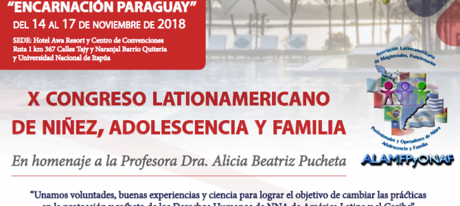 X Congreso Latinoamericano de Niñez, Adolescencia y Familia