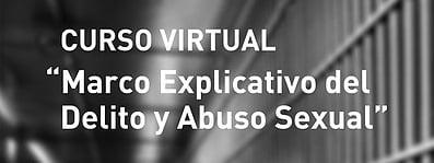 Curso Virtual: Marco Explicativo del Delito y Abuso Sexual
