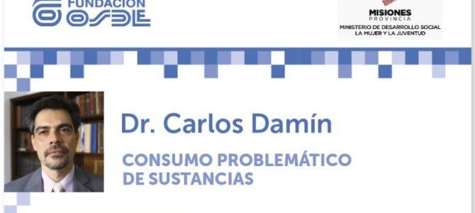 Charla: Consumo Problemático de Sustancias – Dr. Carlos Damín