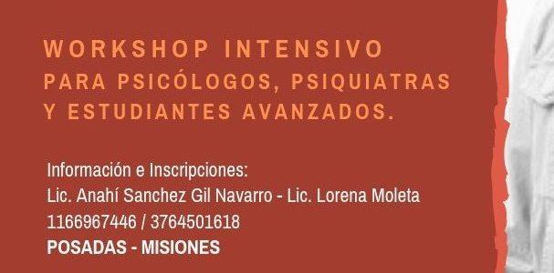 """Workshop """"Activación Conductual para Depresión, y Terapia de Aceptación y Compromiso"""""""