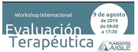 Workshop Internacional: Evaluación Terapéutica