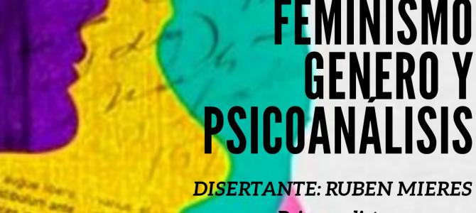 """Seminario """"Feminismo, Género y Psicoanálisis"""""""