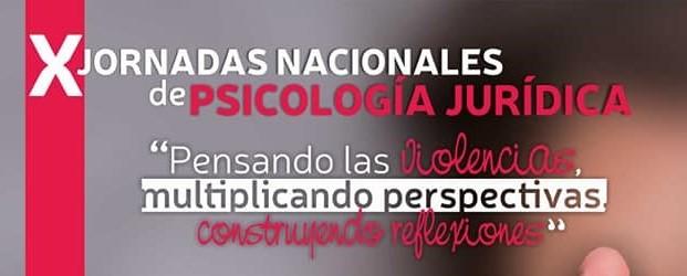 X Jornadas Nacionales de Psicología Jurídica (Jujuy)